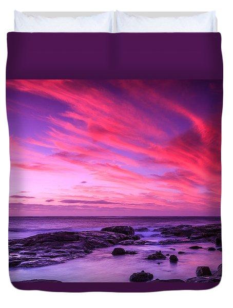 Margaret River Sunset Duvet Cover