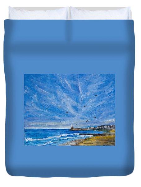 Margate Skies Duvet Cover