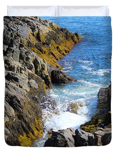 Marginal Way Crevice Duvet Cover