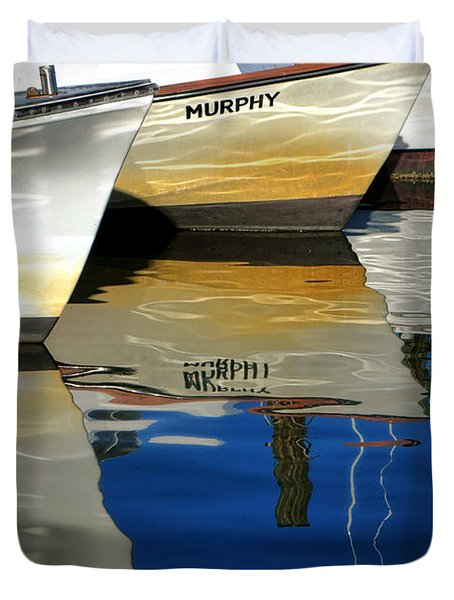 Maria And Murphy Duvet Cover