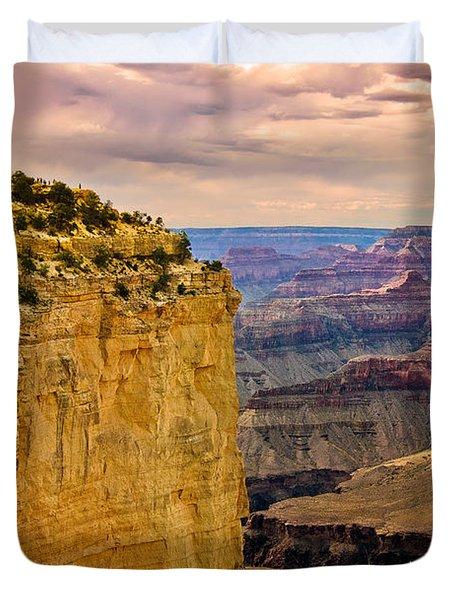 Maricopa Point Grand Canyon Duvet Cover by Bob and Nadine Johnston