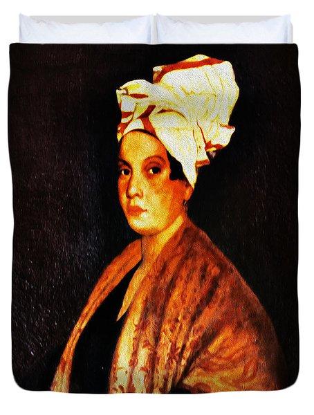 Marie Laveau - New Orleans Witch Duvet Cover