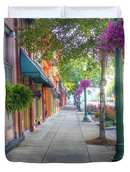 Marietta Sidewalk Duvet Cover