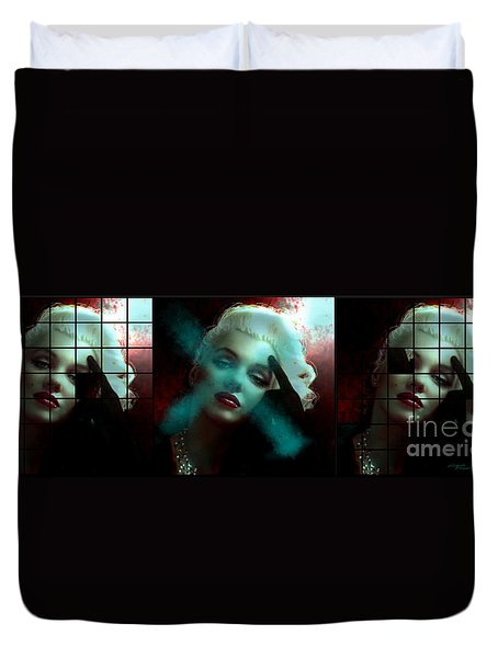 Marilyn 128 Tryp  Duvet Cover