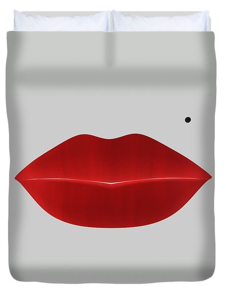 Marilyn Lips Duvet Cover