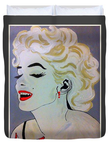 Marilyn Monroe Beautiful Duvet Cover