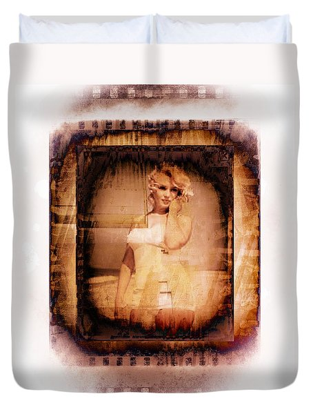 Marilyn Monroe Film Duvet Cover