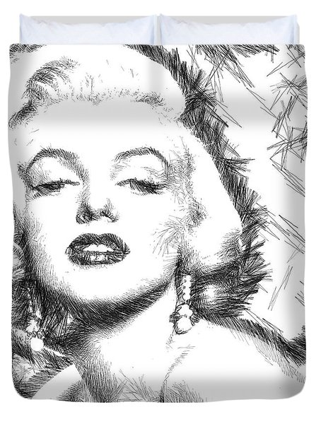 Marilyn Monroe - The One And Only  Duvet Cover