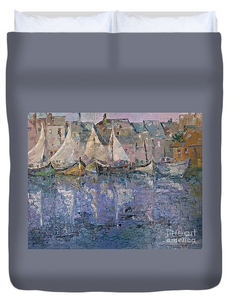 Marina Duvet Cover by AmaS Art