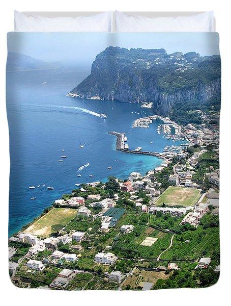 Marina Grande Anacapri Duvet Cover