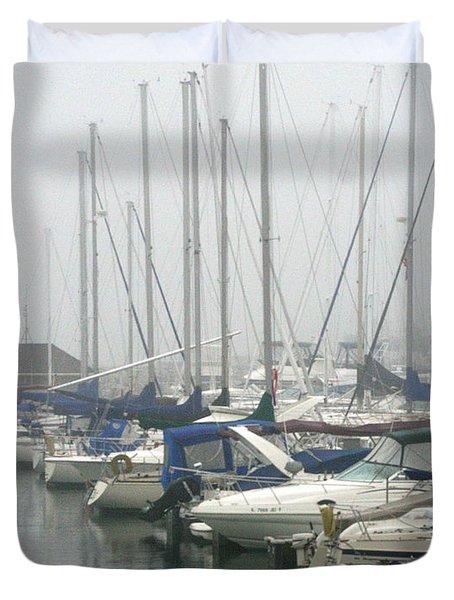 Marina Reflections Duvet Cover