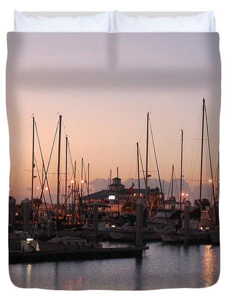 Marina Sunrise 12 Duvet Cover