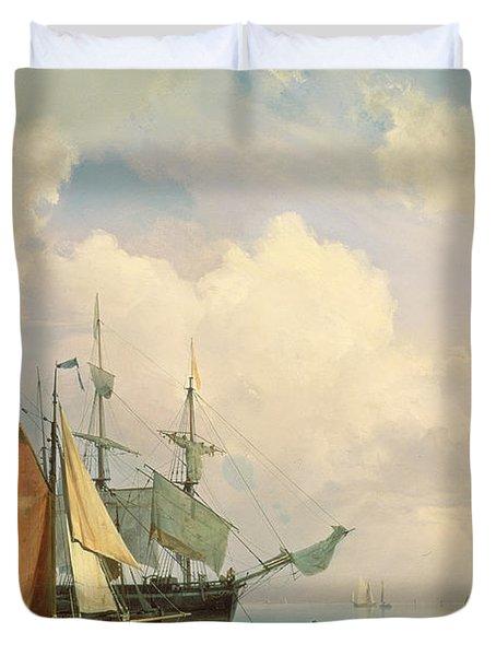 Marine  Duvet Cover