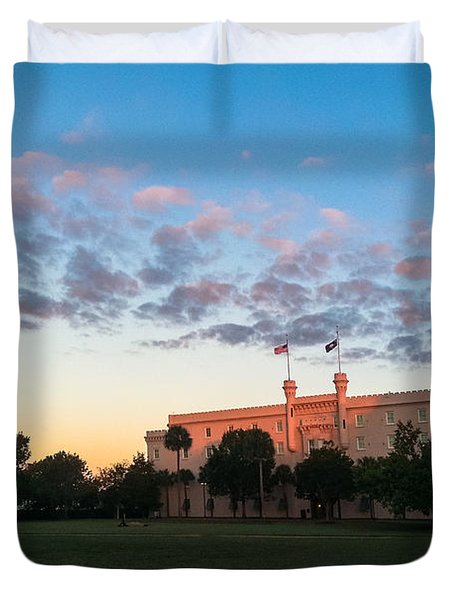 Marion Square Sunrise Duvet Cover