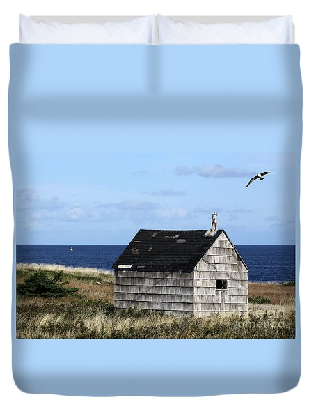 Maritime Cottage Duvet Cover