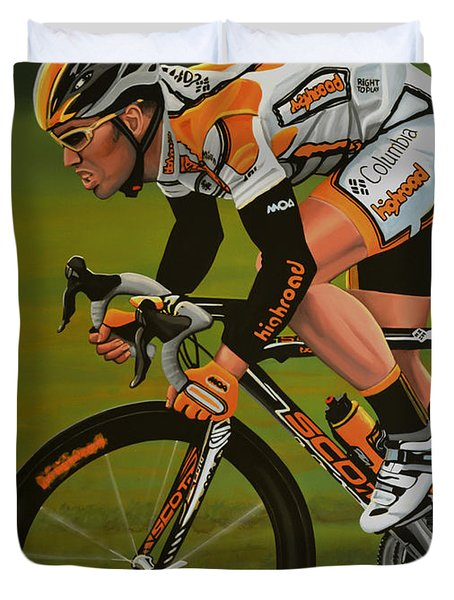 Mark Cavendish Duvet Cover