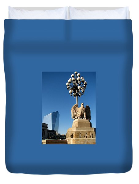 Market Street Bridge Duvet Cover