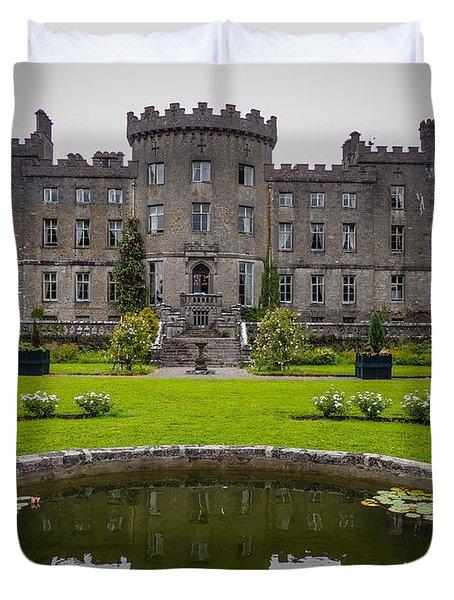 Markree Castle In Ireland's County Sligo Duvet Cover