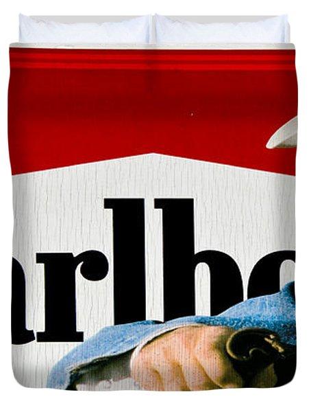 Marlboro Man Duvet Cover