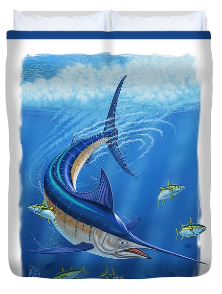 Marlin Duvet Cover