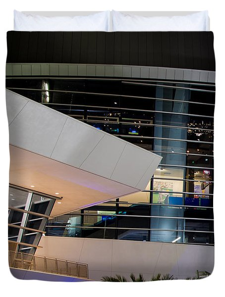 Marlins Park Stadium Miami 6 Duvet Cover by Rene Triay Photography