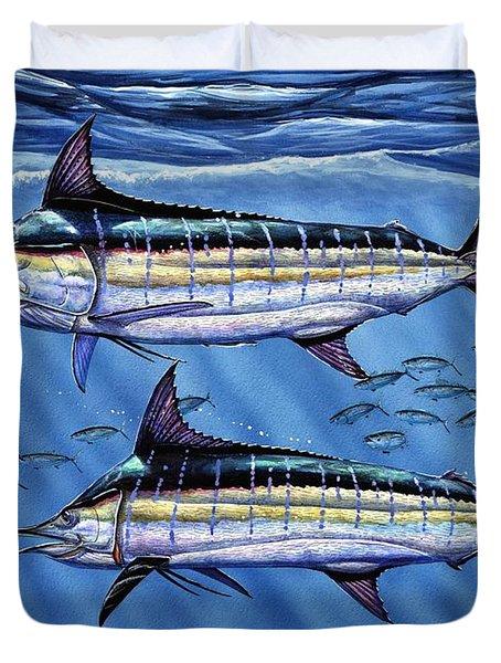 Marlins Twins Duvet Cover