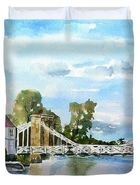 Marlow On Thames 2 Duvet Cover