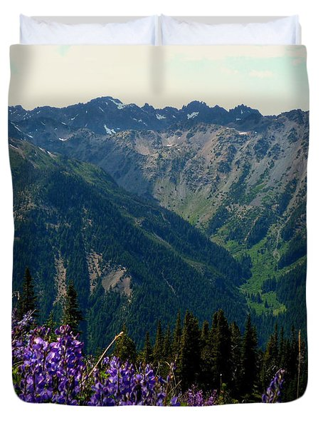 Marmot Pass Duvet Cover
