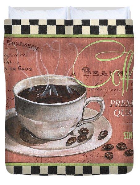 Marsala Coffee 1 Duvet Cover