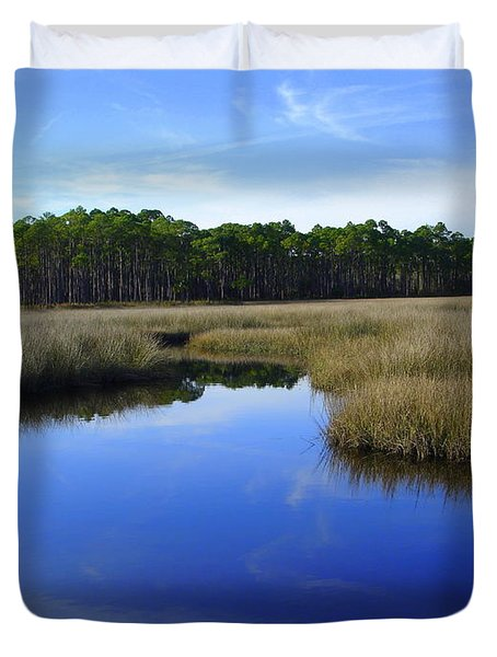 Marsh Water Creek Duvet Cover