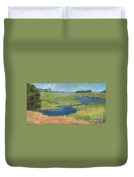 Marshes Duvet Cover