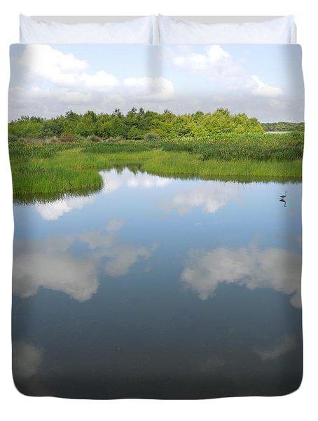 Marshland Duvet Cover by Ron Davidson