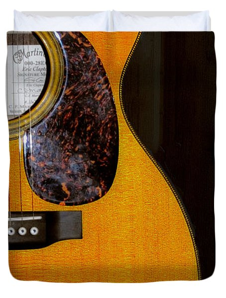 Martin Guitar  Duvet Cover by Bill Cannon