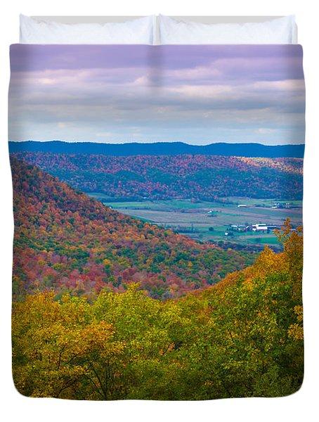 Martin Hill Foliage Duvet Cover