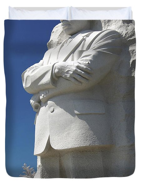 Martin Luther King Jr. Memorial Duvet Cover by Mike McGlothlen