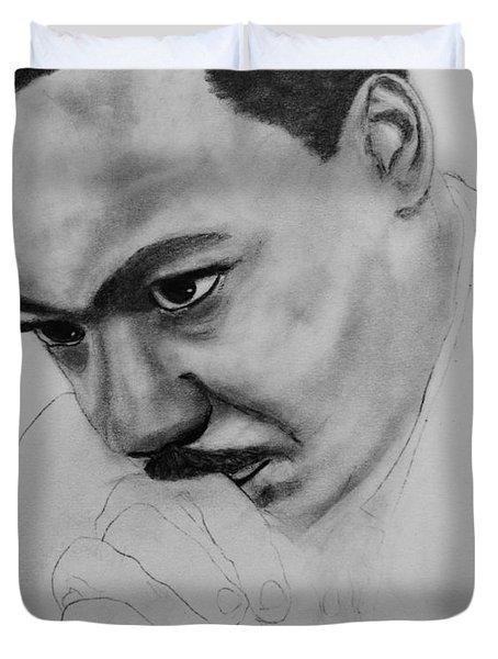 Martin Luther King Jr. Mlk Jr. Duvet Cover by Michael Cross