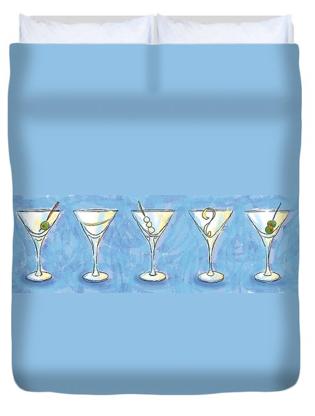 Martini Lunch Duvet Cover