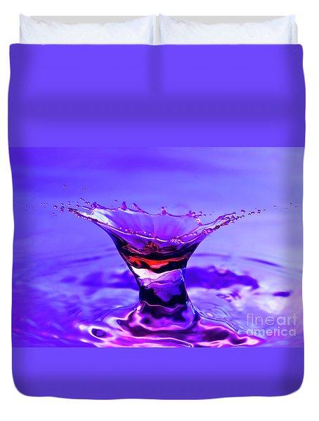 Martini Splash Duvet Cover