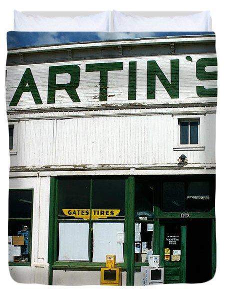 Martin's Duvet Cover