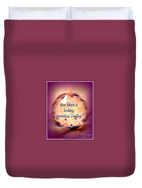 Marvelous Darling Duvet Cover by Bobbee Rickard