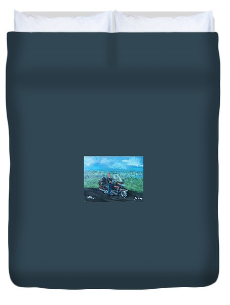 Marvins Ride Duvet Cover