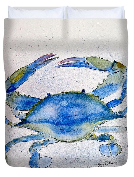 Maryland Blue Crab  Duvet Cover