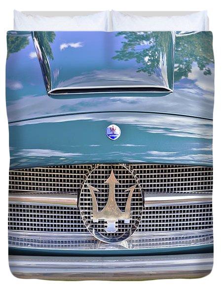 Maserati A6g 54 2000 Zagato Spyder 1955 Duvet Cover by Maj Seda