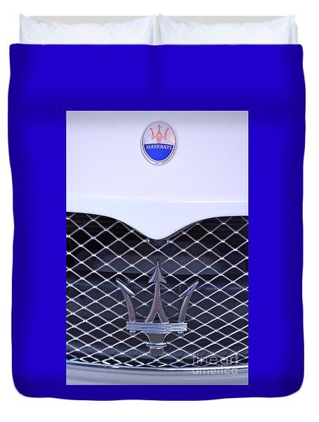 Maserati Emblems Duvet Cover