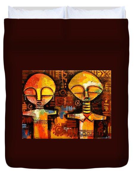 Mask 5 Duvet Cover