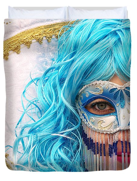 Mask Duvet Cover