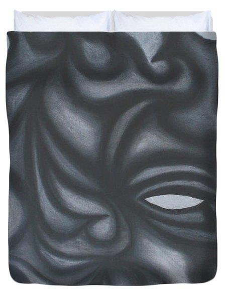 Mask Duvet Cover by Jamie Lynn