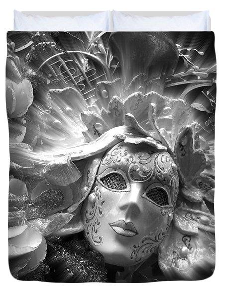 Masked Angel Duvet Cover