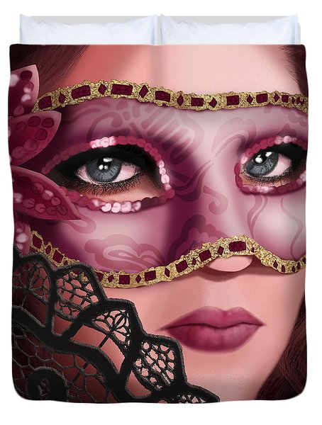 Masked II Duvet Cover