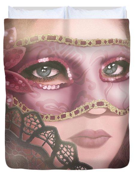 Masked Iv Duvet Cover